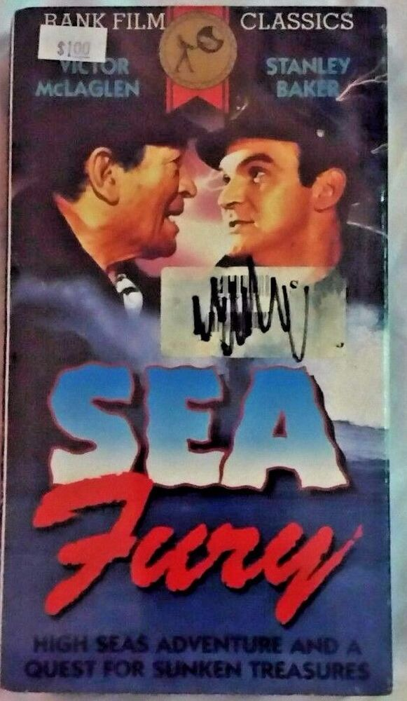 NEW In Plastic -  Sea Fury (VHS) ***FREE SHIPPING***