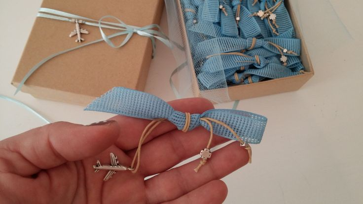 Baby boy baptism pins AIRPLANE pins Airplane baptism theme martyrika blue beige Martirika baptism guests favors greek baptism favors for boy by eAGAPIcom on Etsy
