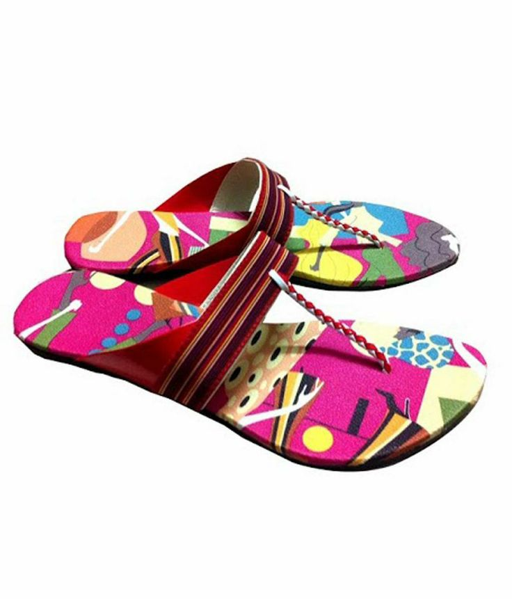 Trendy Multi Coloured Flats