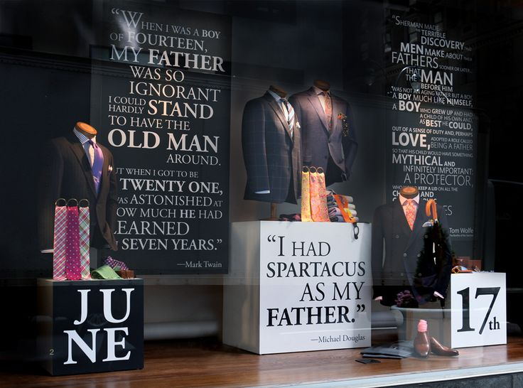 Father S Day Father's Day windows |...