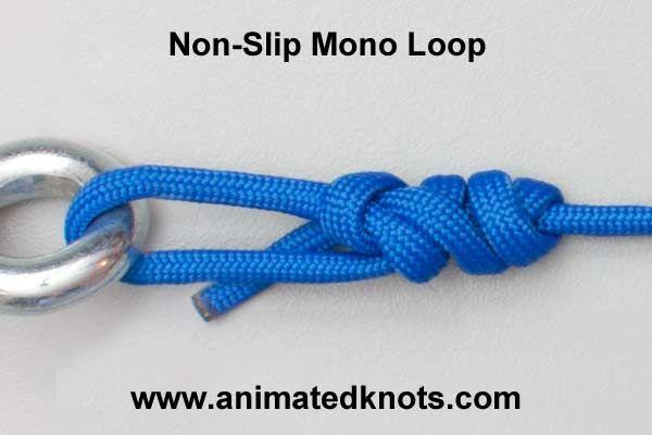 Non-Slip Mono Knot | How to tie a Non-Slip Mono Knot | Fishing Knots