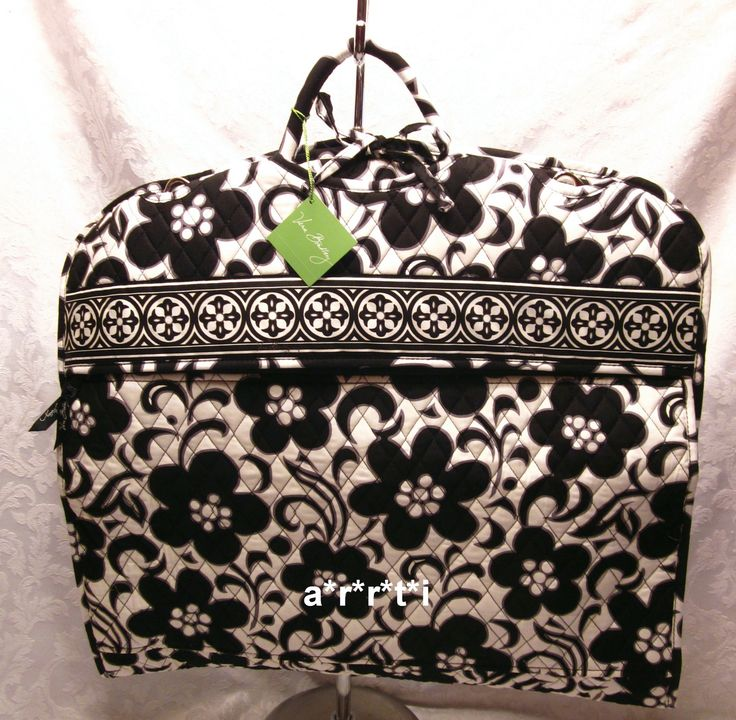 Vera Bradley Garment Bag Night and Day New with Tags