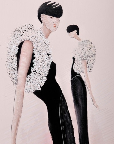 Geoffrey beene design scholarship award illustrations Fashion designer geoffrey