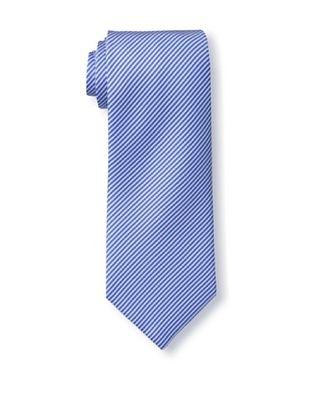 58% OFF Battistoni Men's Stripe Tie, Blue/White