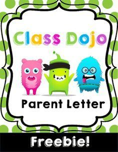 This letter is the perfect way to introduce Class Dojo to your classroom community! This letter explains how parents can get involved and will get the year started off right. Class Dojo is the perfect tool to help direct your classroom management.Enjoy!Key Words: Class Dojo, classroom management, parent letter, beginning of the year.