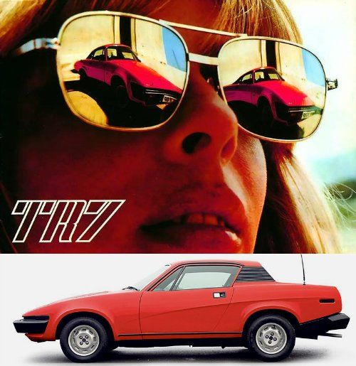 70s Ad For The Triumph TR7 Sports Car