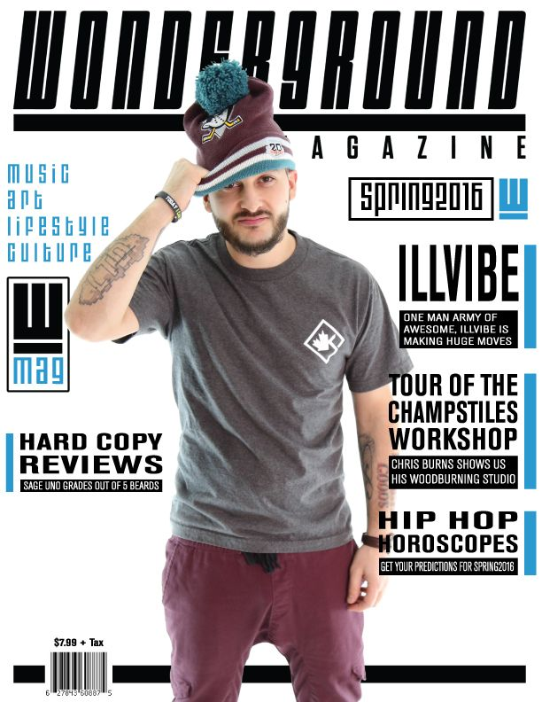 iLLvibe, The One Man Army of Toronto. One of the biggest supporters of our print project, iLLvibe was our TOP selling cover artist. Check out his One Man Army video here https://www.youtube.com/watch?v=x11i1_9TdtI ..