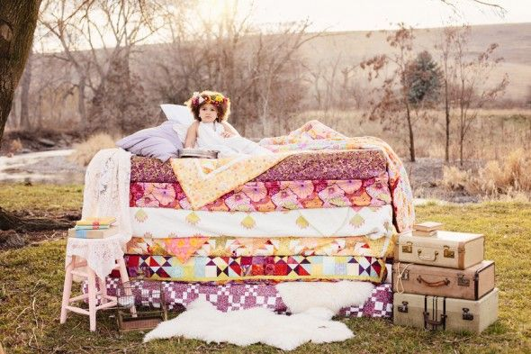 Beautiful Princess and the Pea Fairytale Style Shoot! | Two Bright Lights
