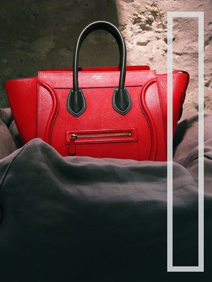 Celine bag - red