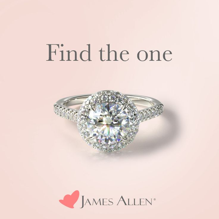 The pavé falls over the edge of this smashing diamond halo ring creating an impressive display of fireworks and light play. Ring can be set with any round, princess, oval, radiant, emerald, marquise, pear, asscher or cushion cut diamond/gemstone of your choice. | Ring style 17085W14 on JamesAllen.com. Click to see this ring in 360° HD!