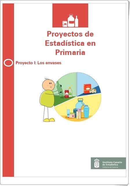 """""""Los envases"""" (Estadística) I 6º Primaria I  http://www3.gobiernodecanarias.org/istac/webescolar/material_didactico/primaria/proyectos/proyecto_1-los_envases.pdf"""