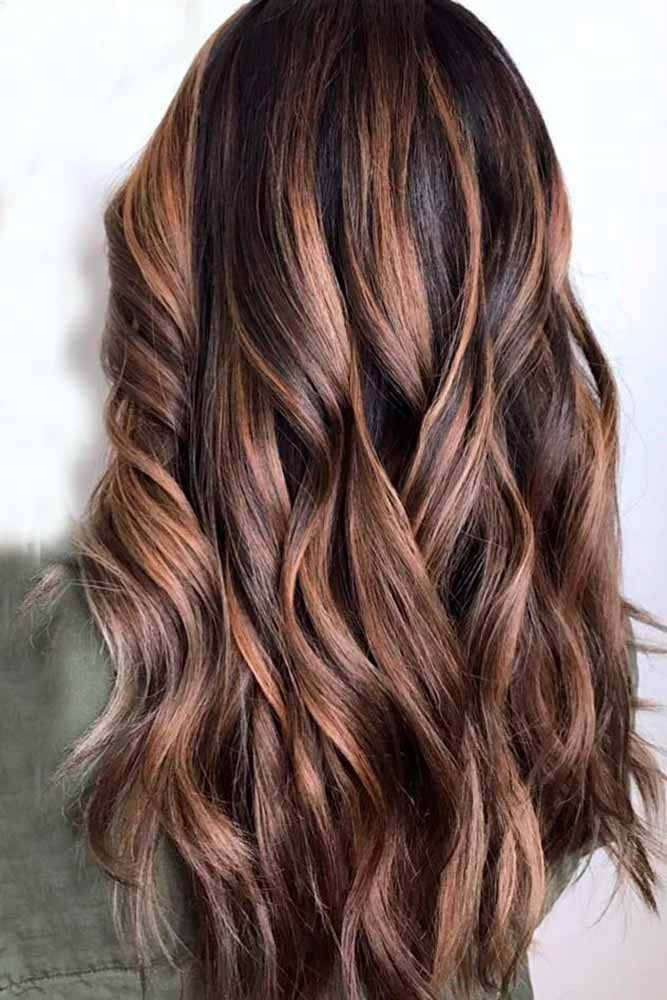 Hair Color 2017 2018 Highlights For Dark Brown Hair