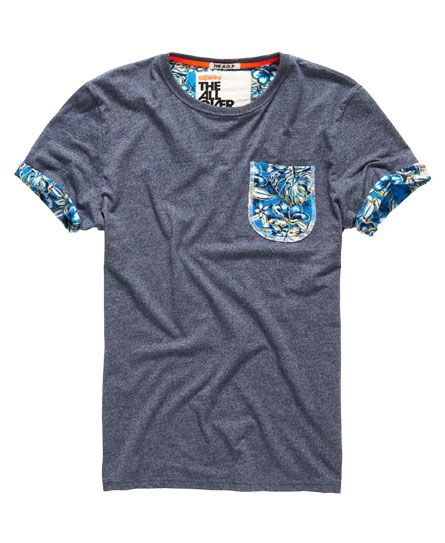 Superdry T-shirt Honolulu Roll