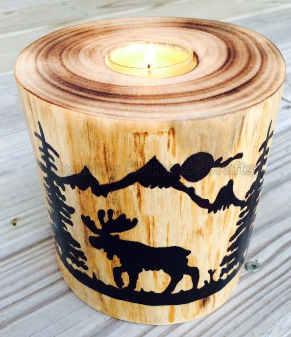 62 Best Moose Candle Images On Pinterest
