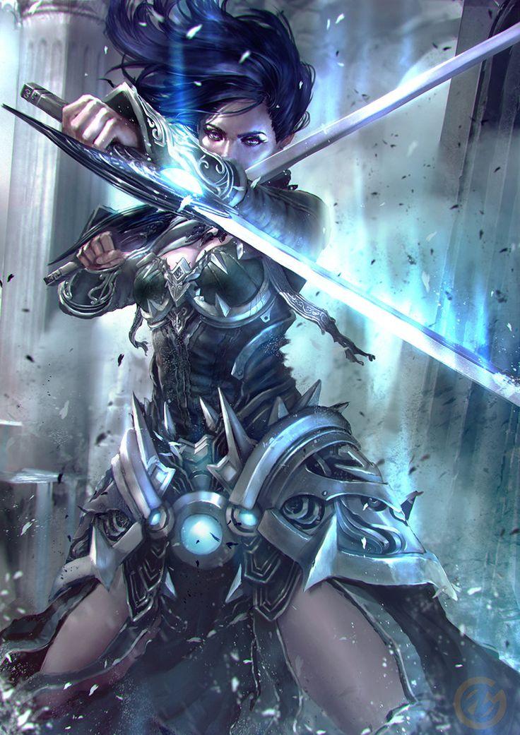 Dual Frost, Nick Gan on ArtStation at http://www.artstation.com/artwork/dual-frost