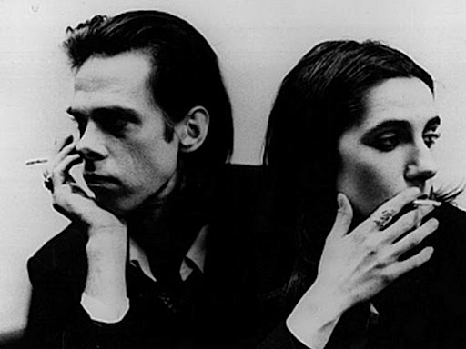 Nick Cave og PJ Harvey