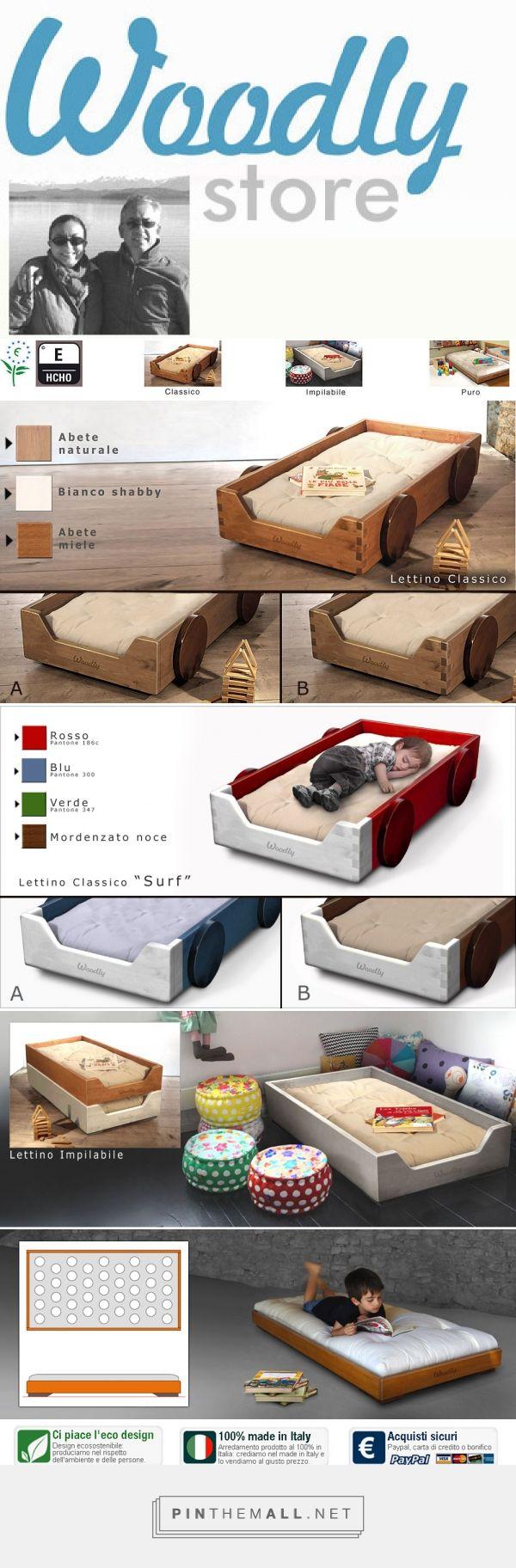 Woodly Store -  Lettino Ecologico Montessori Montessori floor bed