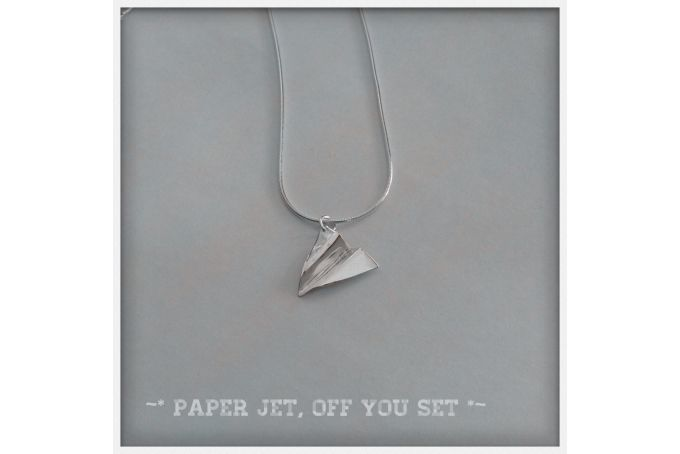 Paper jet off you set... by Home is where the heart is... on hellopretty.co.za