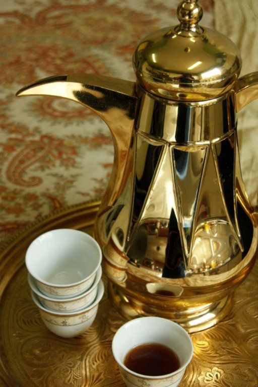 ARABIC COFFEE - Only gulf people who do this type of coffe