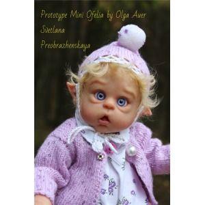 Mini Ofelia Vinyl Doll Kit By Olga Auer