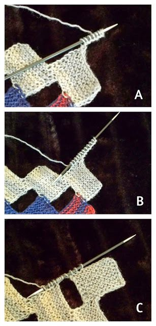 Free Knitting Pattern for a beautiful scarf - all knitted in garter stitch and an easy example of modular knitting. Knitting tutorial, Free knitting pattern, knit, Free online knitting pattern, Knitting patterns, Knitting design, Knit design, Strickmuster, Strickanleitung, Gratisanleitung stricken, Gratisstrickanleitung, Tricot, Tricoter, Modèle Tricot, 編み物, patron tejido dos agujas gratis, scarf, modular knitting
