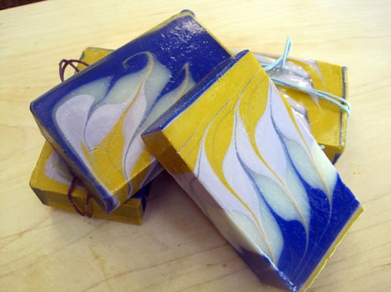 Lavender and Lemon Soap/Lavender Soap/Lemon Soap/All Natural