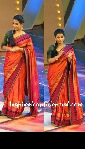 Love the saree...