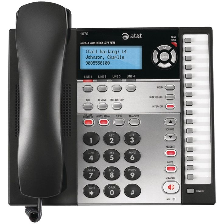 Att 4-line Speakerphone With Caller Id
