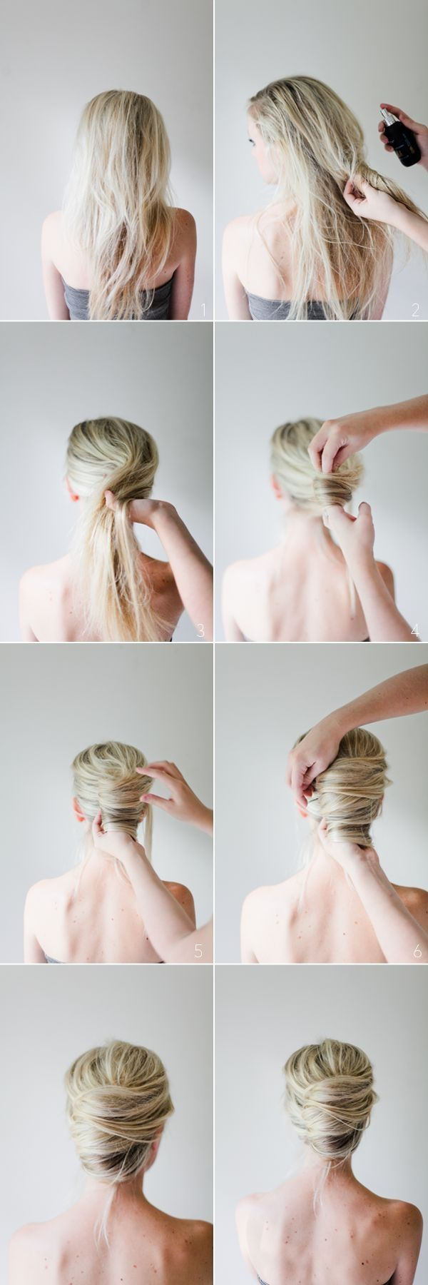Messy French Twist Tutorial by jthomason