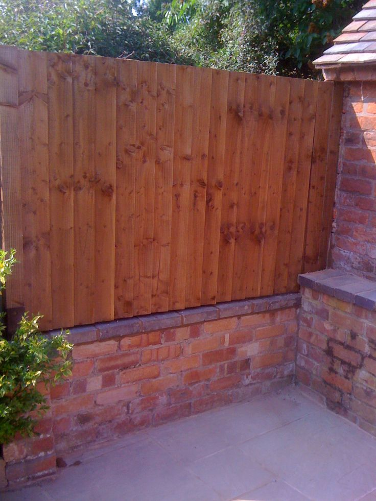 Brickwork & fence panel replacement