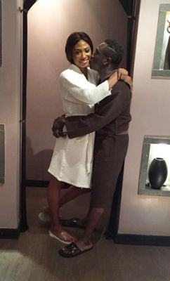 Julius Agwu and wife loved up in new photos   Comedian Julius Agwu shared photos of himself and his wife Ebiere having some bonding time at a spa. He wrote that he strongly advises couple massage 'to avoid private happy endings'.  entertainment