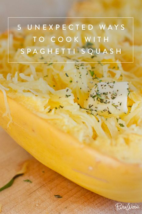 5 Unexpected Ways to Cook with Spaghetti Squash via @PureWow