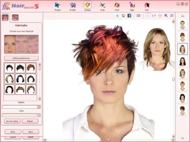 Frisuren Ausprobieren Kostenlos Download Hairstyle Simulator Hair Styles Hair Changer