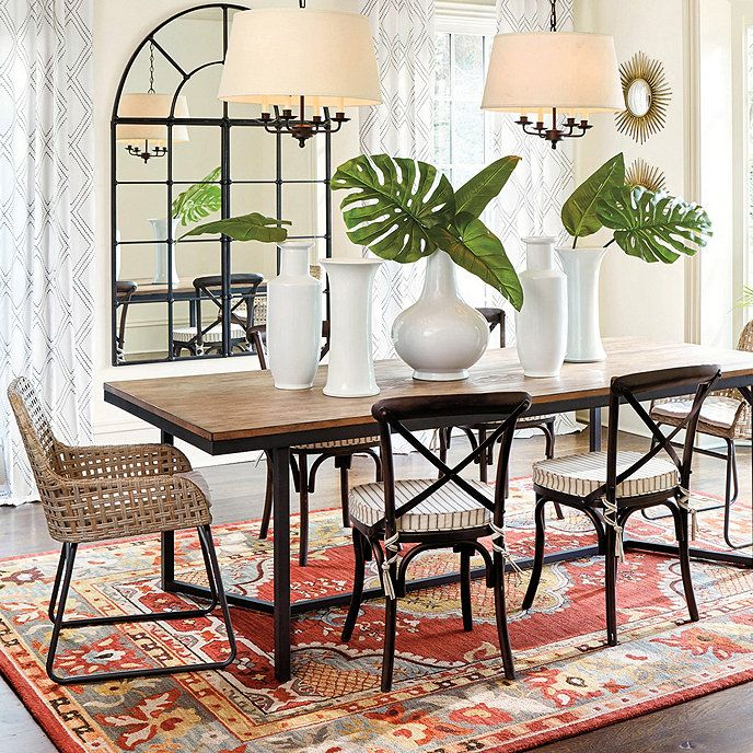 Atticus Dining Table Mixed Dining Chairs Dining Table
