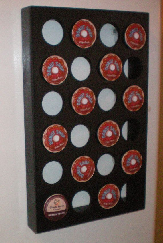 Magnetic K-Cup storage / pod holder /K cup drawer by WhatAWagon