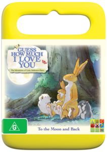 Guess How Much I Love You - To The Moon And Back. Based on the bestselling picture book, join Little and Big Nutbrown in the ABC exclusive title 'To the Moon and Back'. $19.99
