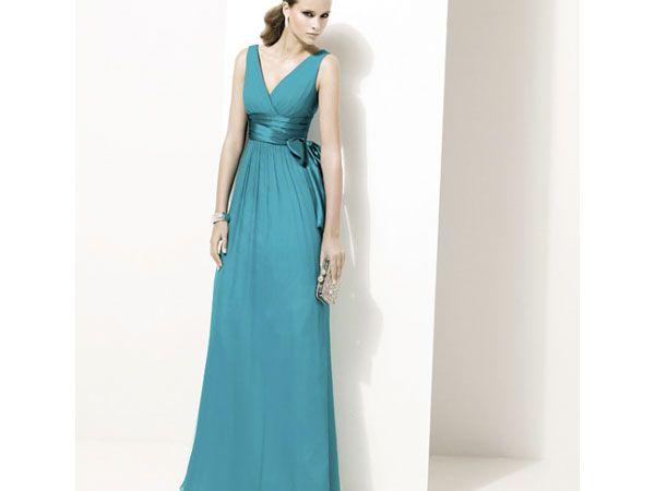 Vestido para dama largo de Pronovias