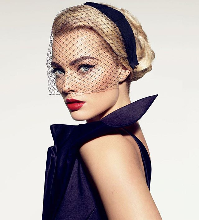 Margot Robbie. Photograph by Miguel Reveriego.
