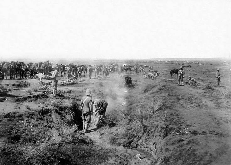 1 RWF on operatons on the South African Veldt.