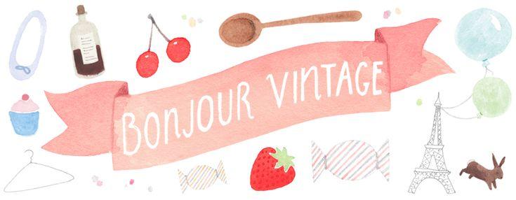 Bonjour Vintage | Vintage, bakverk och inredning