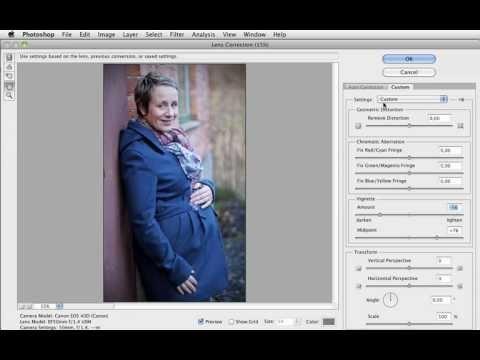 Grunderna i Photoshop CS5 - 18 En enkel fix från början - redigera en bild med några grundläggande verktyg