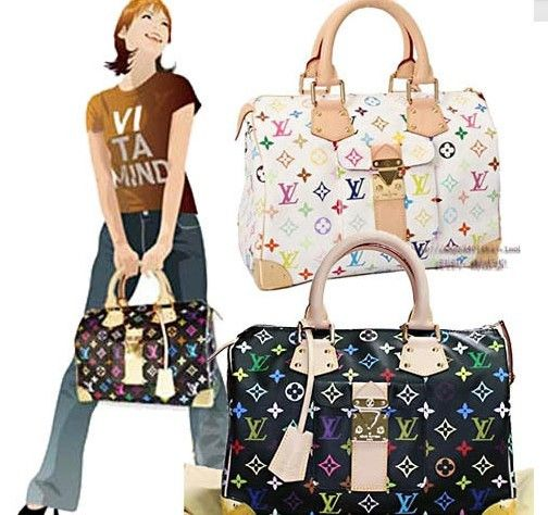 Louis Vuitton Multicolore Speedy 40