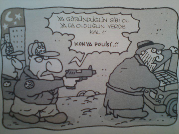 Konya polisi :)
