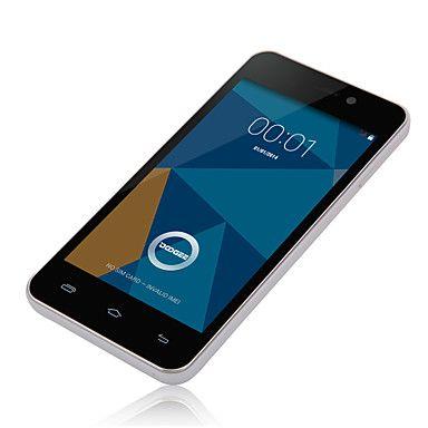 "DOOGEE Valencia DG800 4.5 ""IPS MTK6582 Android 4.4.2 WCDMA Smartphone (Back Touch, Smart Somatosensory, OTG, de asistență Touch) – USD $ 99.99"
