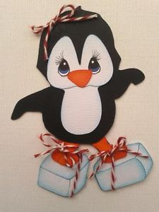 Tocg Premade Paper Pieced Penguin on Ice Blocks by My Tear Bears Kira | eBay