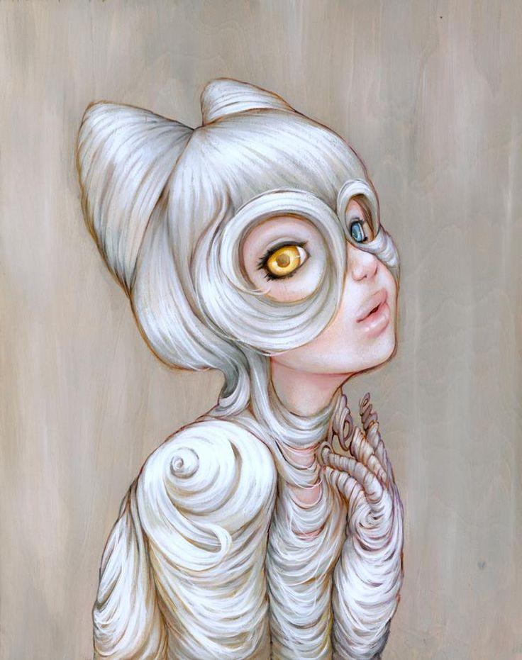 """Hairball"" ~ Camilla d'Errico"