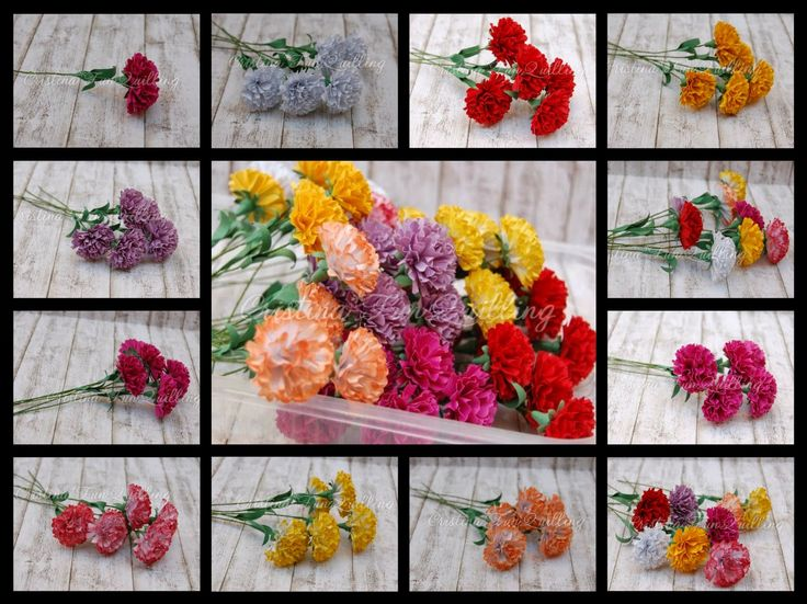 201 best images about flower making tutorials on pinterest for Handmade paper flowers tutorial