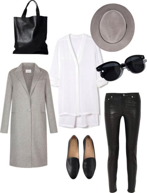 """Sugestão para um look """"minimal chic"""" sem esforço"""