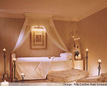 Ritz Carlton Spa, New Orleans