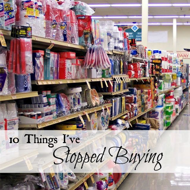 10 Things I've Stopped Buying  I  http://www.oakhillhomestead.com
